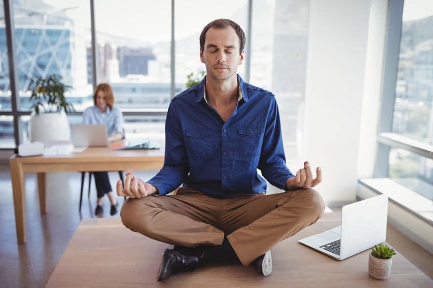 la méditation au bureau
